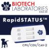 RapidSTATUS test CPV/CDV/CAV-2